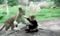 رویارویی حیوانات وحشی و درنده باغ وحش با کودکان!